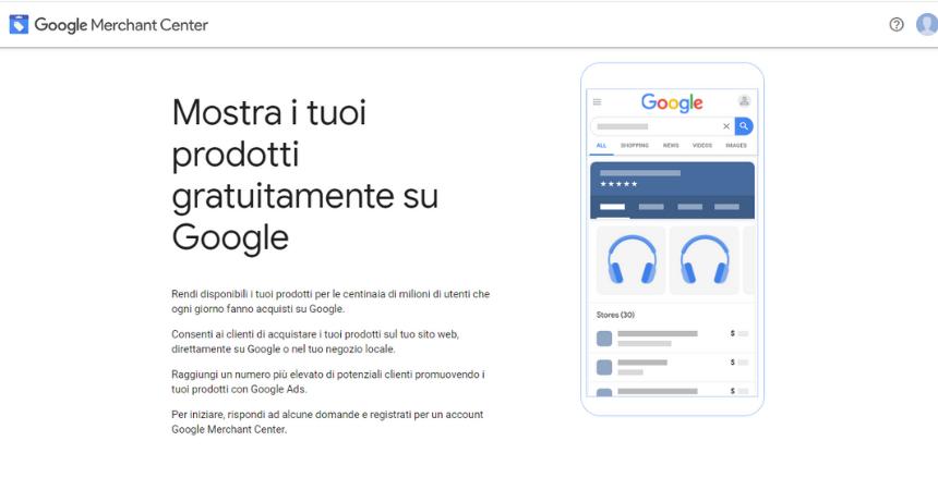Google Merchant cos'è
